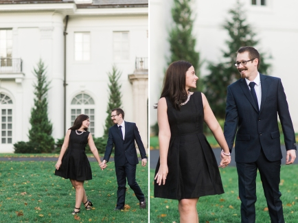 Indianapolis Museum of Art Engagement Session, Ashley Link Photography